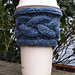 Cabled Coffee Cozy pattern