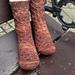 euglassia watsonia socks pattern