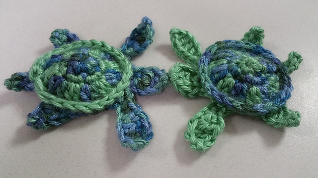 Crochet Turtle Amigurumi Toy Softies Free Patterns | 360x640