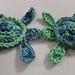 Sea Turtle Applique pattern