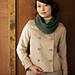 Silk Rosa Cowl pattern