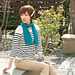 Giza 45 Summer Scarf pattern
