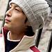 2728-OMO45 Vintage cashmere hat pattern