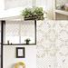 Yawaraka Lace Café Curtain pattern