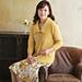 214ss-14 Silk Rosa Cardigan pattern