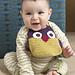 Owl Bib pattern
