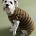 City Stripes Dog Sweater pattern