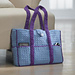 Eight-Pocket Two-Tone Carryall Tote pattern