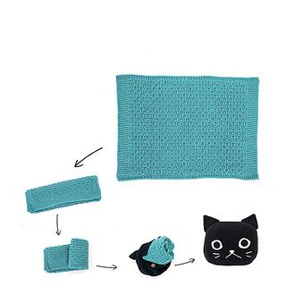 Cat Tea Cozy | AllFreeCrochet.com | 320x320