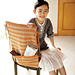 Chair Cover with Pocket pattern
