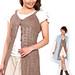 Amijin Cotton Buttoned Tunic pattern
