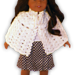 """American Girl or 18"""" Doll Open Front Cape pattern"""
