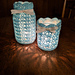 Lovely Lace Mason Jar Cover pattern