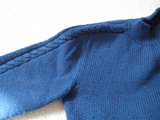 Vintage Knits Cable Sweater