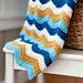 Ocean Waves Blanket pattern