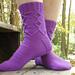 Purpure Socks pattern