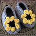 Cheery Cotton Baby Shoes pattern