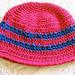 Kathy's Cross-Stitch Hat pattern