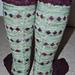 Queen's Diamond Jubilee Socks pattern