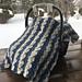 Winter Wonder Car Seat Cover pattern