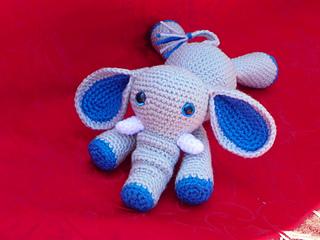 Ravelry: Amigurumi Horton the Elephant pattern by Jenn Mulherin | 240x320