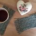 Morning Bliss Mug Rug pattern