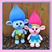 Baby Trolls Amigurumi pattern