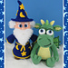 Wizard and Dragon pattern