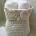 Owl Crochet Basket pattern