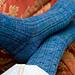Right-Twist Cable Rib Socks pattern