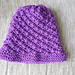 Angel Kisses Cap pattern