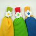 Daisy Towel Holder pattern