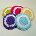 Two-color Scrubbies pattern