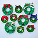 Fun and Fast Wreath Pins pattern