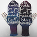 Earth and Stars Mittens pattern