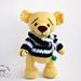 Yellow Teddy Bear pattern