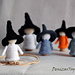 Waldorf Halloween Witches Babies from corks pattern