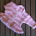 Baby Pink Stripe Cardigan pattern