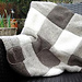 Blanket Square Diagonal Garter Stitch pattern