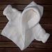 Baby Hooded Wrap Cardigan pattern