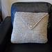 Big Knit Pillow/Cushion pattern