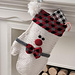 Smitten Snowman Stocking pattern