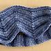 Chevron Eyeshade pattern