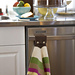 Welcome Spring Oven Towel pattern