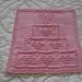 Valentine Cake Dishcloth pattern