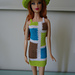 Barbie Colorblock Mod Sheath Dress pattern