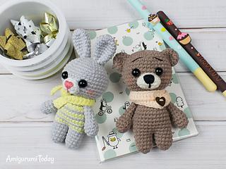Amigurumi Doll Fox Lovey Crochet Pattern Crochet Toy | 240x320