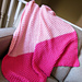 """Pretty in Pink"" Baby Blanket pattern"
