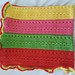 Bold Stripe Afghan with Assorted Stitches pattern