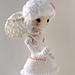 Miss Leah the Sheep Ballerina pattern